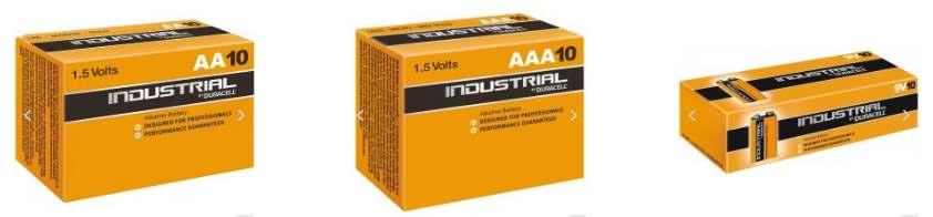 Industrial batterijen