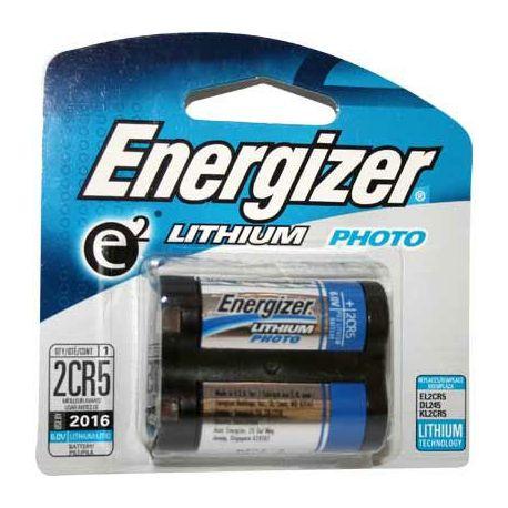Energizer 2CR5 Lithium 6 volt blister 1