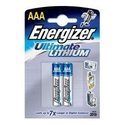 Energizer Lithium 1,5 volt AAA 2/L92 blister 2