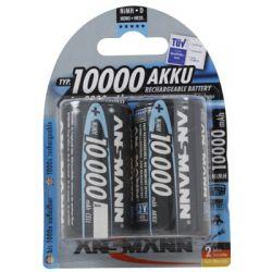 Ansmann D NiMh 10.000 mAh blister 2