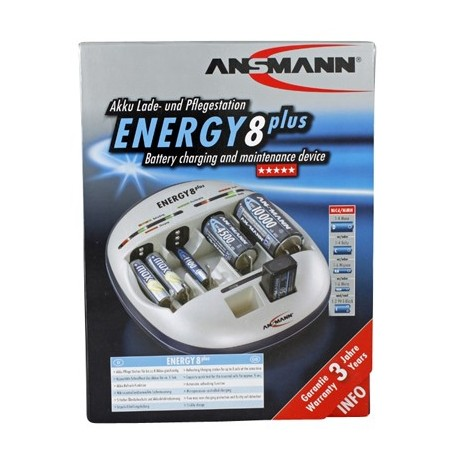 Ansmann Energy 8 Plus Universeellader