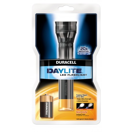 Duracell Daylite LED 2C incl.