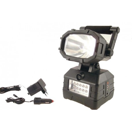 Rechargeable Handlamp Halogeen/LED