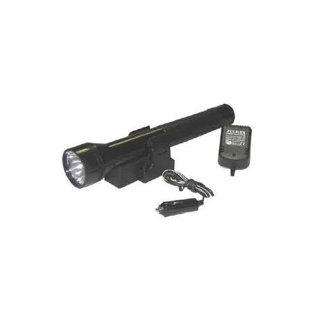 Polilux Rechargeable staaflantaarn 12/220v