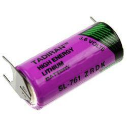 Tadiran lithium 3.6V 2/3AA SL761/PT met printaansluiting