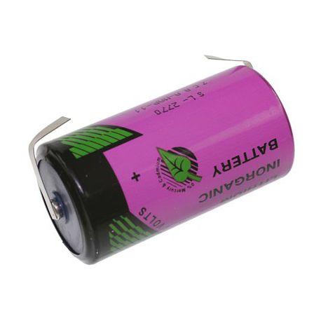 Tadiran lithium 3.6V  C SL2770/T met soldeerlippen