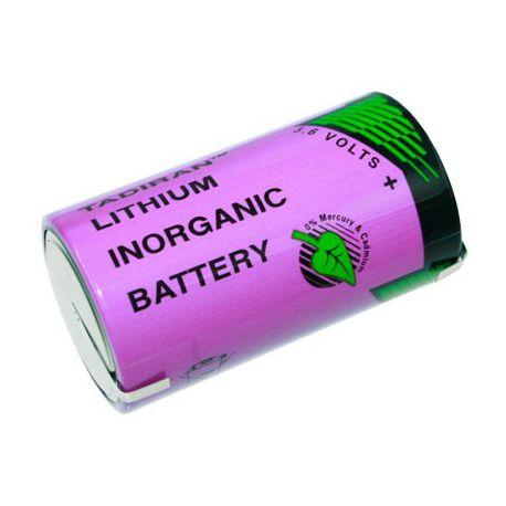 Tadiran lithium 3.6V D SL2780/T met soldeerlippen