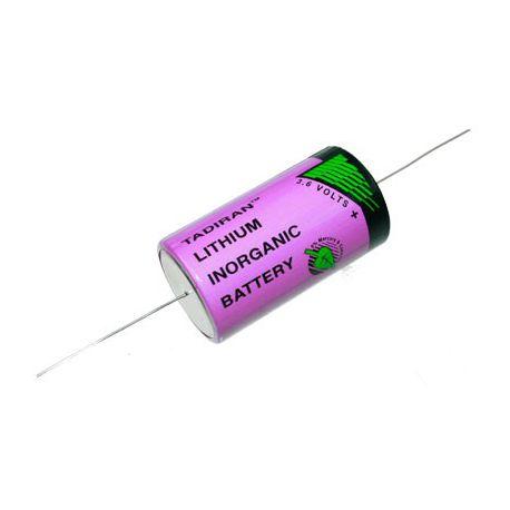 Tadiran lithium 3.6V  D  SL2780/P met axiale kabel