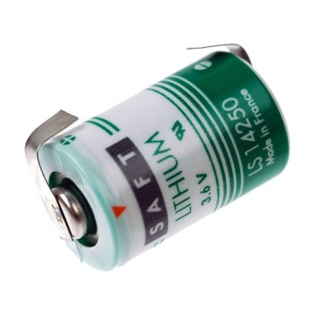 Saft Lithium 3.6 volt 1/2AA LS14250-CNR