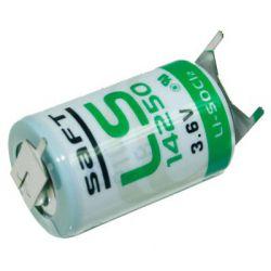 Saft Lithium 3.6 volt 1/2AA LS14250-3PF