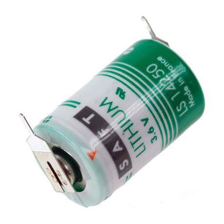 Saft Lithium 3.6 volt 1/2 AA LS14250-2PF