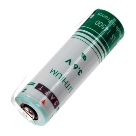 Saft Lithium 3.6 volt AA LS14500-CNR