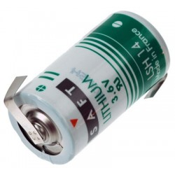 Saft Lithium 3.6 volt C  LSH14-CNR
