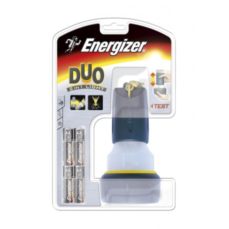 Energizer Rubber Duo 2-1 Camping lamp incl.4/AA