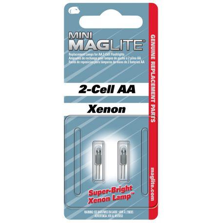 Maglite Xenon vervangingslamp Mini/Micro 2 stuks
