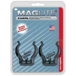 Maglite Wandmontage beugels 2 stuks