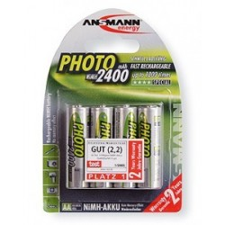Ansmann Photo AA NiMh 2400mAh Blister 4