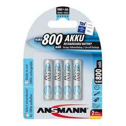 Ansmann AAA NiMh  800 mAh blister 4