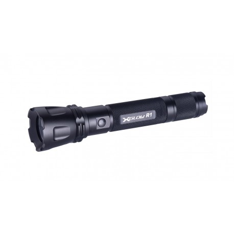 Xglow R1 CREE LED Rechargeable flashlight 1/18650 incl.