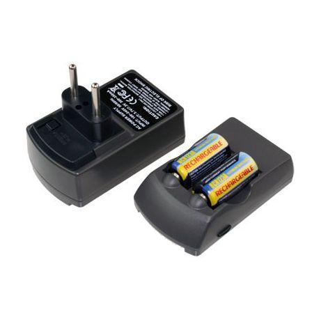 Batterijlader voor Li-Ion RCR123 3.0V inkl.2 x RCR123