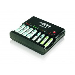 Ansmann Powerline 8 Charger voor 1-8 AA of AAA
