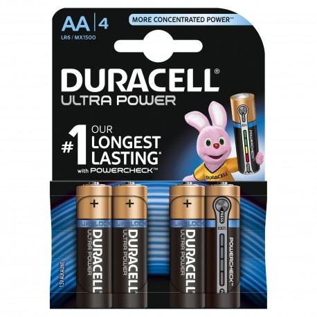 Duracell Ultra Power MX1500 AA blister 4
