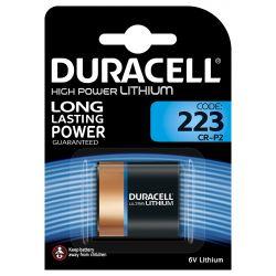 Duracell DL223 CR-2P Lithium 6 volt blister 1