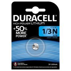 Duracell CR1/3N Lithium 3 volt blister 1