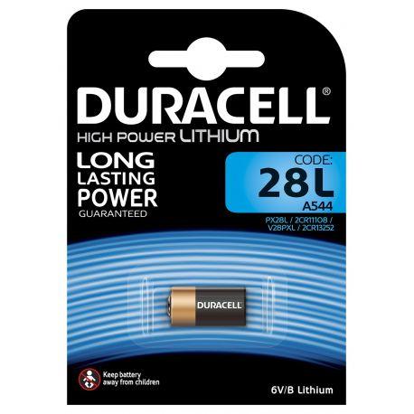 Duracell PX28L Lithium 6 volt blister 1