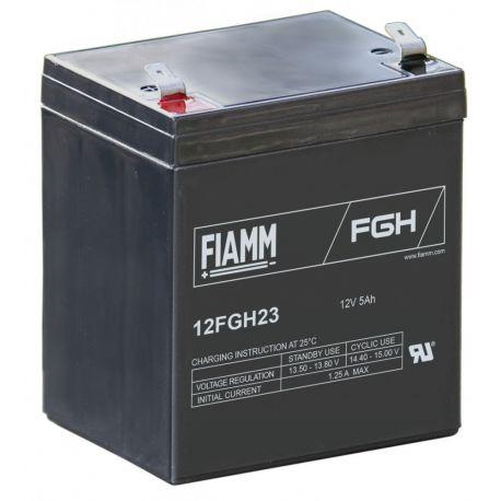 Fiamm Lead Acid AGM accu 12FGH23  12,0V-5,0Ah