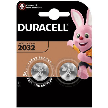 Duarcell Lithium 3 volt DL 2032 blister 2