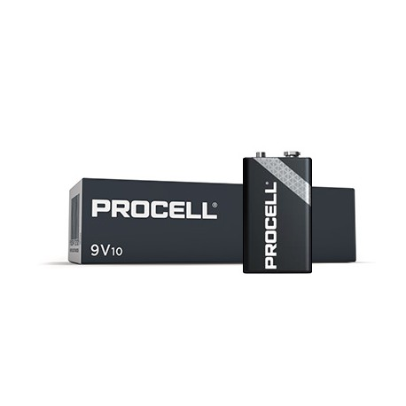 Procell PC1604 6LR61/9,0 volt made by Duracell box 10 stuks
