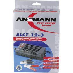 Ansmann ALCT12-3 Lead Acid lader 12V-3,0Ah