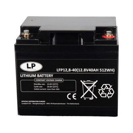 Landport Lithium LifePO4 LFP12-40 12,8V-40Ah
