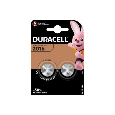 Duracell Lithium 3 volt DL 2016 blister 1