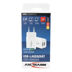 Ansmann Dual High Speed USB 2,4Ah lader