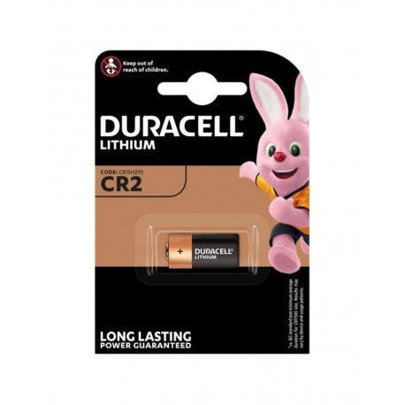 Duracell CR2 Lithium 3 volt blister 1