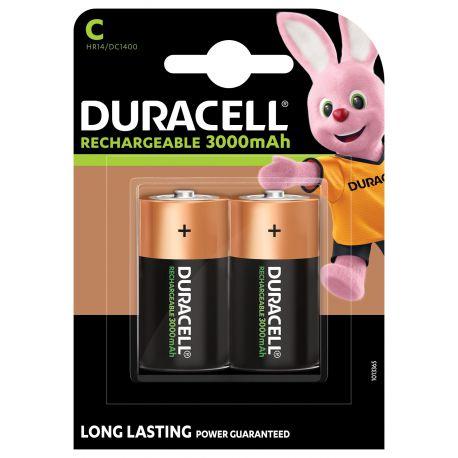 Duracell HR14 C NiMh 3000mAh blister 2