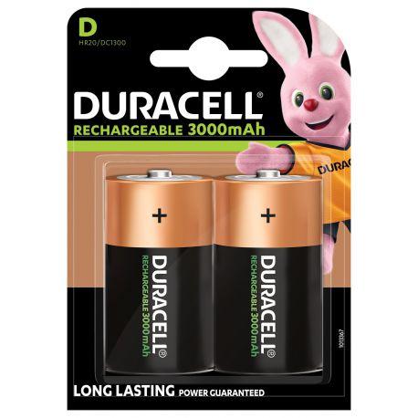 Duracell HR20 D NiMh 3000mAh blister 2