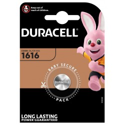 Duracell Litium 3 volt DL 1616 blister 1