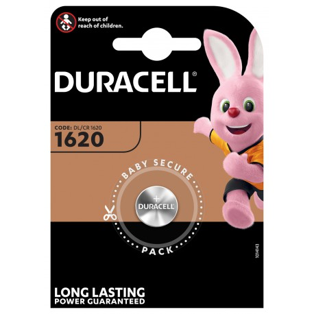 Duracell Lithium 3 volt DL 1620 blister 1