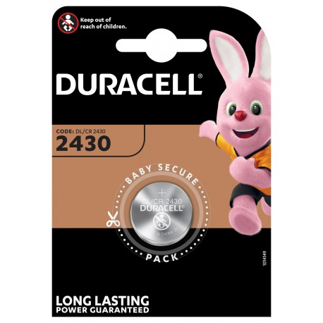 Duracell Lithium 3 volt DL 2430 blister 1
