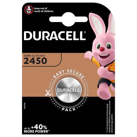 Duracell Lithium 3 volt DL 2450 blister 1