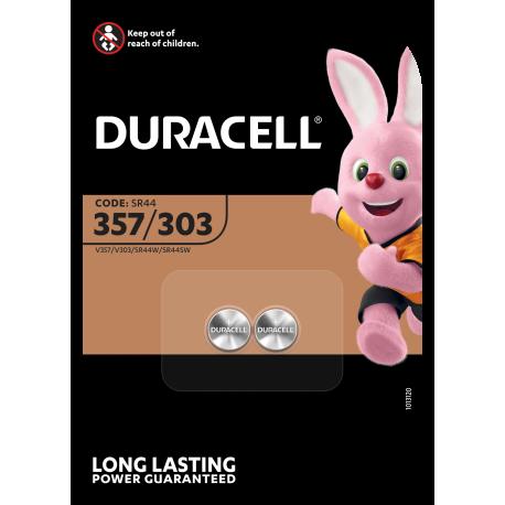 Duracell D357/303 SR44SWEP blister 2
