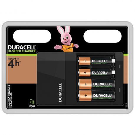 Duracell CEF14 Snellader 45 min. AA/AAA incl.2AA en 2/AAA