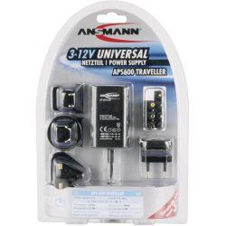 Ansmann APS 600 Traveller netvoeding van 3.0 tot 12.0Volt