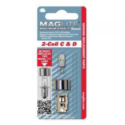 Maglite Xenon vervangingslamp 2D 1 op blister