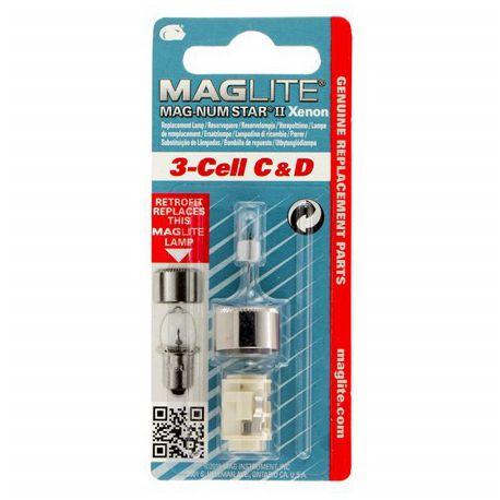 Maglite Xenon vervangingslamp 3D 1 op blister