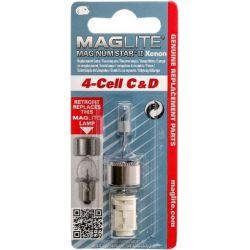 Maglite Xenon vervangingslamp 4D 1 op blister