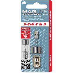 Maglite Xenon vervangingslamp 5D 1 op blister